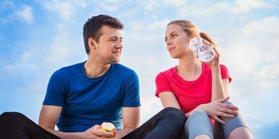 גברים ונשים השמנה והרזייה