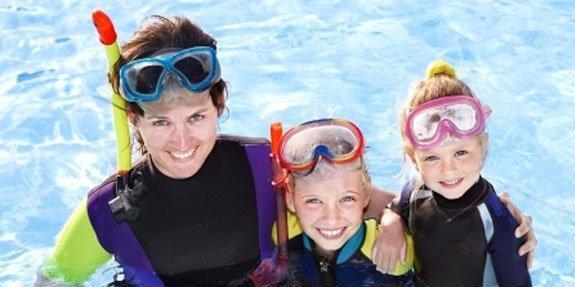 משחקי מים עם הילדים