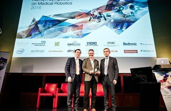 """ד""""ר עמיר סולד זוכה בפרס לרובוטיקה רפואית ע""""ש שטורץ הופקינס שמוענק ע""""י מכון המלין"""