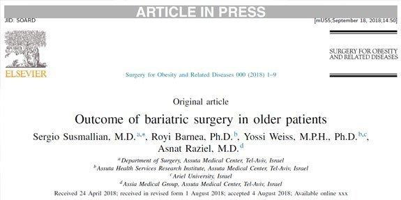 Outcome of bariatric surgery in older-patients